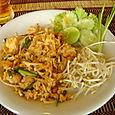 Les Pad Thaïs...