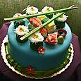 Super Yummy Sushi Cake!