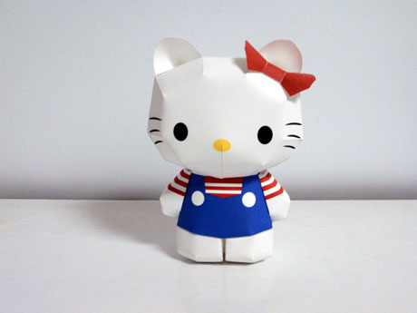Paper-toy-hello-kitty