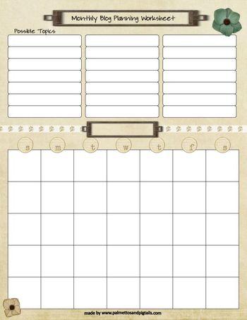 Monthly-Blog-Planning-Worksheet