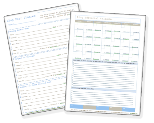 Blog-planners