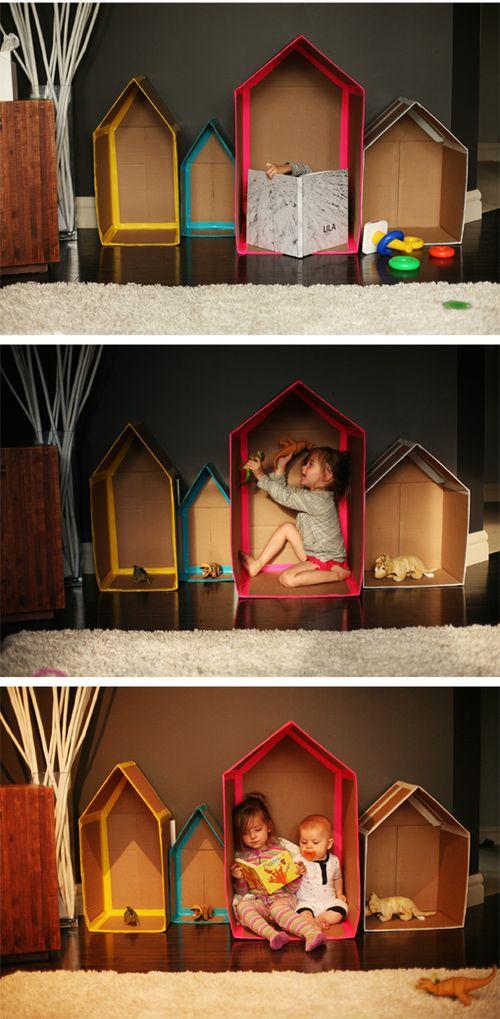 DIY CARDBOARD HOUSES 2