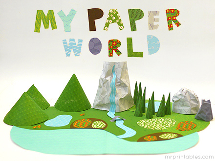 Creative-paper-toy-my-paper-world-title
