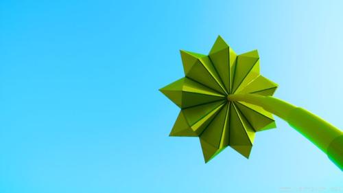Metal-flower