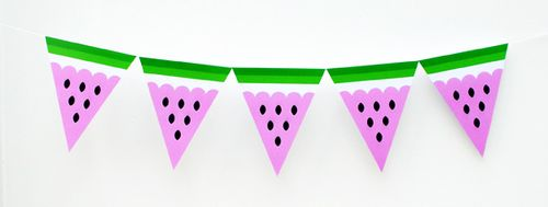 Watermelon-garland