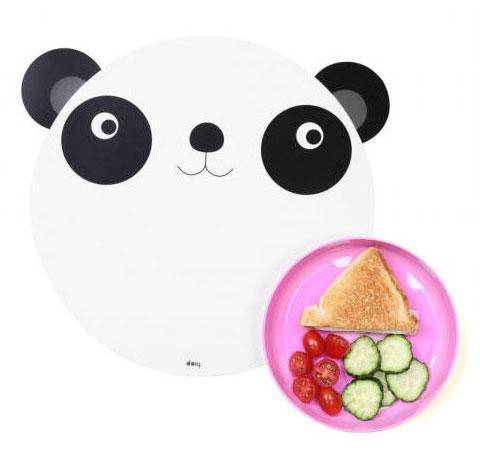 Set-table-et-assiette-panda