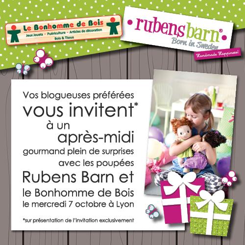 Evénement Lyon Rubens Barn, Le Bonhomme de Bois, Lyon