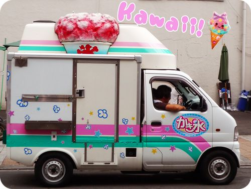 Kawaii-Ice-Cream-Truck-Japan