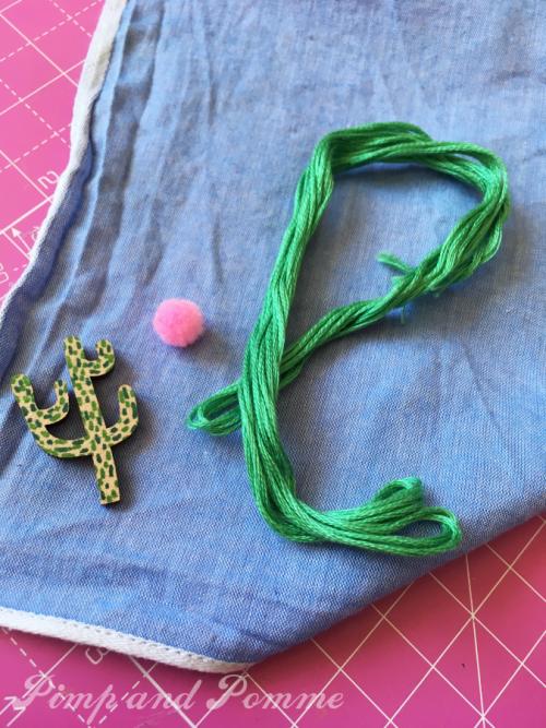 DIY-mouchoirs-cactus-tissus-rainbow-merrysquare-paillettes-sequins-henry-henriette