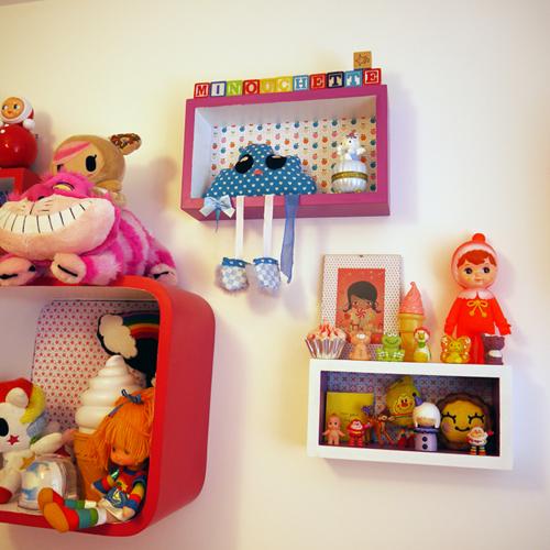 wonderland-chambre de Minouchette-Colourful-Rainbow-Pimpandpomme