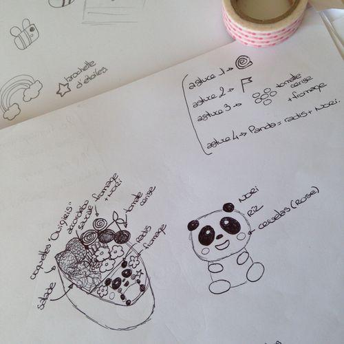 Ma-Vie-En-Couleurs-PimpandPomme-Cuisine-Kawaii-Février-Mai-2015-Croquis-Bento