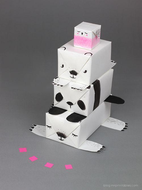 Animal-gift-wrap-totem