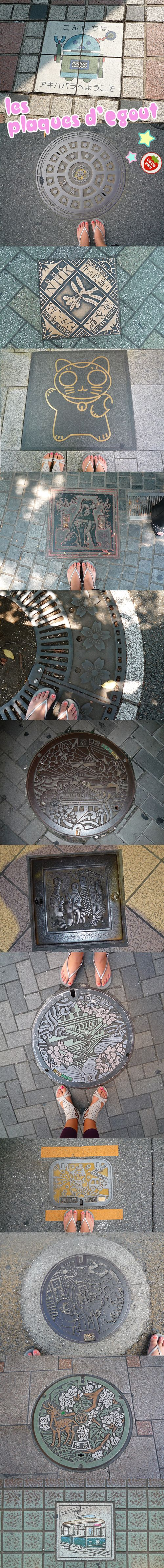 Plaques-Egout-Kawaii-Japon