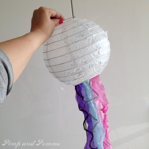 DIY-Mermaid-PArty-Jellifish-glitter-lanterne-paillettes-giotto
