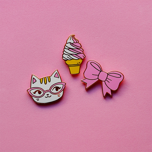 Pins-Choupis-Broche-Badge-ETSY