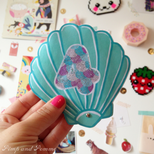 Invitation-Sirène-Magique-DIY-Printable-Shell-Mermaid-Party-Free