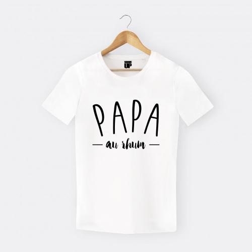 Tshirt-homme-papa-au-rhum