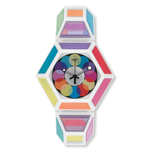 Collection-of-Swatch-Watches-x-Fred-Butler
