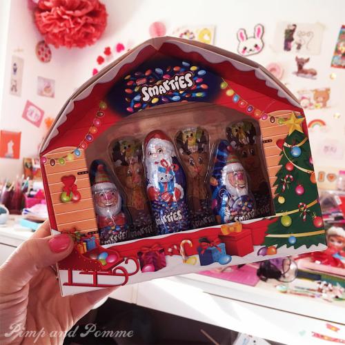 Chocolat-Smarties-Avent-Noel