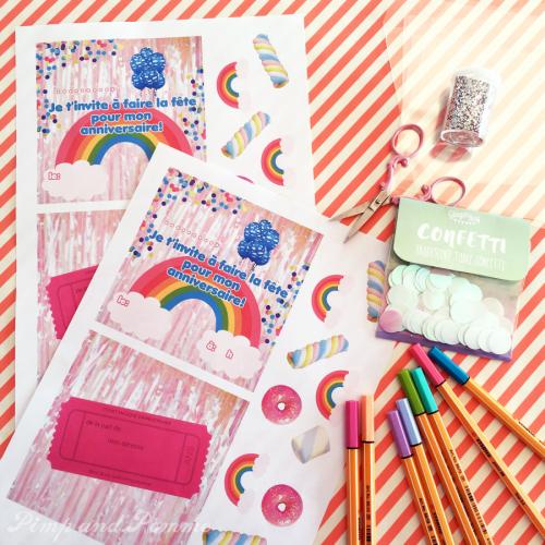 DIY-Invitations-Anniversaire-Rainbow-Confettis-Free-Printable-gratuit-4