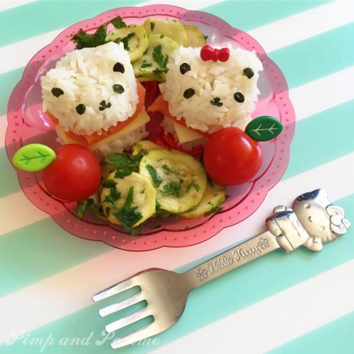 Bento-KYARABEN-Sailor-Moon-Onigiri-Yummy-Pimpandpome-atelier-bento-LYON-PARIS