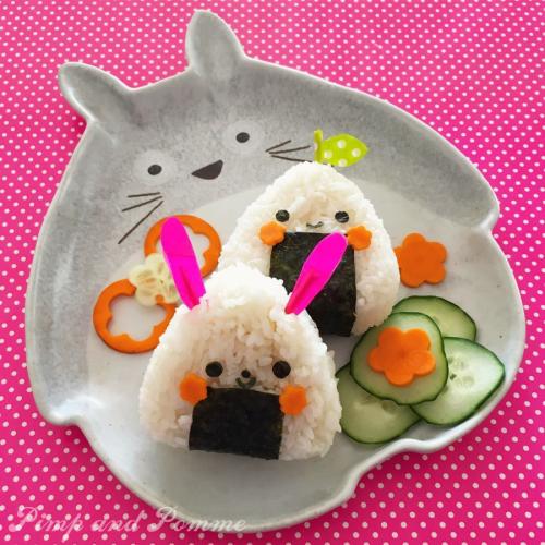 Atelier-Bento-Kyaraben-Kawaii-Onigiris-Totoro