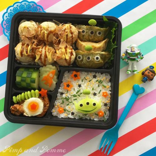 Bento-toy-story-takoyaki-matsuri-pimpandpomme