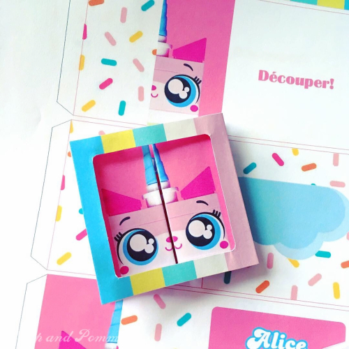 Carte-3D-unikitty-lego-DIY-printable4