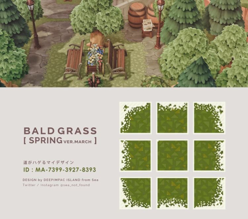 Motif-chemin-mauvaises-herbes